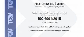 Dokaz kvalitete ISO 9001