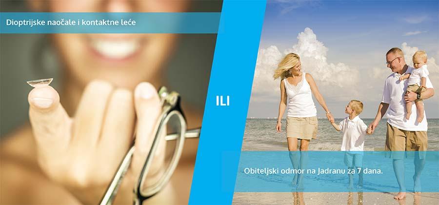 kontaktne leće i dioptrijske naočale