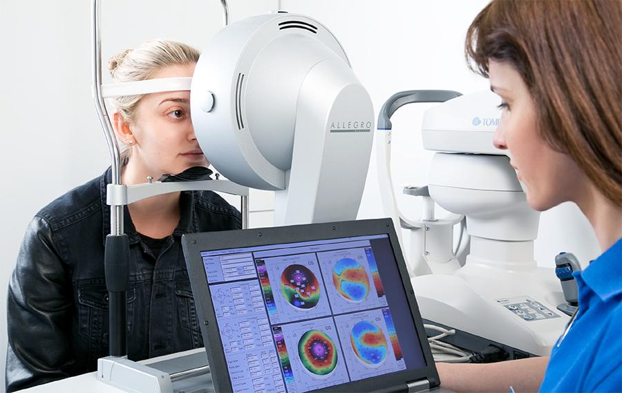 dijagnostika prije laserske korekcije vida