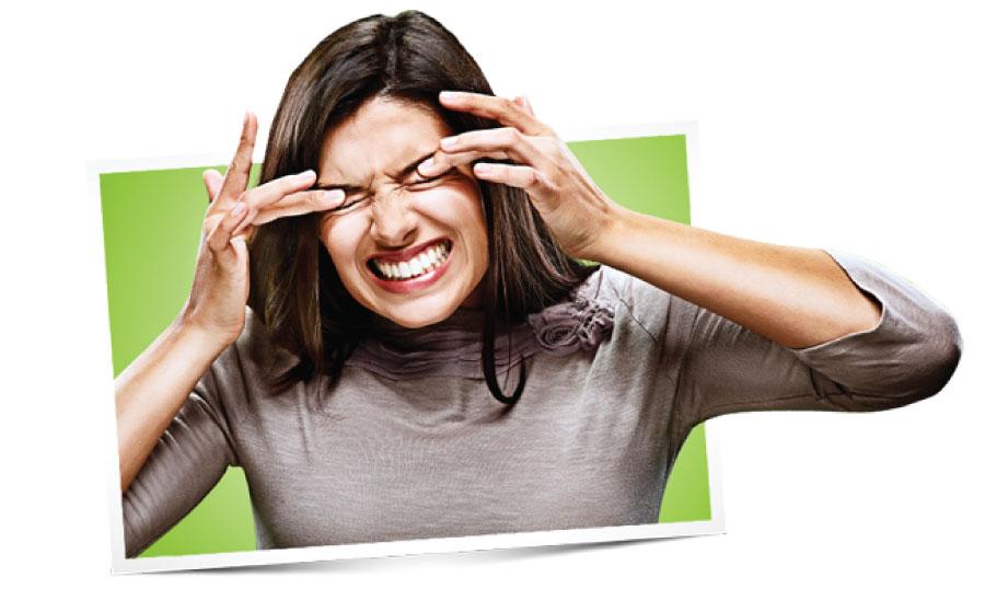 Glavni simptomi očnih alergija su crvenilo, svrbež i vodeni iscjedak iz oka.