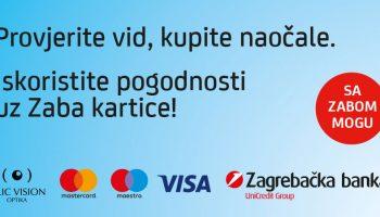 Poliklinika Bilić Vision u suradnji sa Zagrebačkom bankom nudi posebne pogodnosti