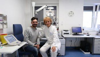 Dr. Bilic i Jani u ambulanti nakon pregleda