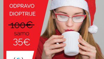 Doživite praznike brez zarošenih očal!