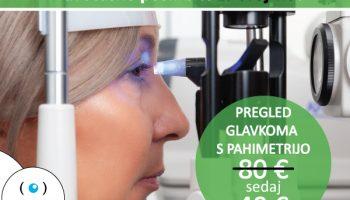 Zaustavite povišan očesni tlak v mesecu boja proti glavkomu